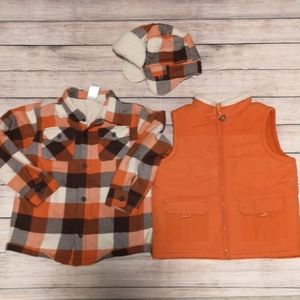 Gymboree Plaid 3 Piece Set